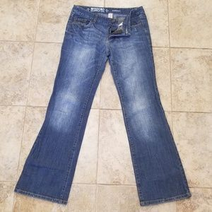 Mossimo Good Condition Boot Cut Blue Jeans